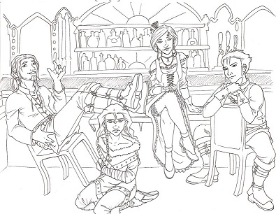 Group Shot Sketch